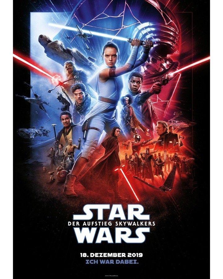 Star Wars A Ascensao Skywalker Star Wars Posteres De Filmes