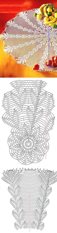 Servilleta de ganchillo ... 1000 Mailles (Francia)