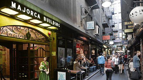 Melbourne AUstralia - City Laneways  Centre Place, Melbourne, Victoria, Australia