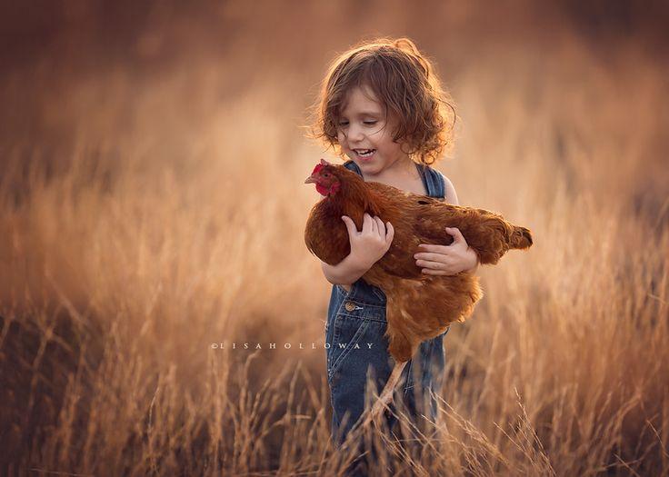 photo d'un enfant à contre-jour
