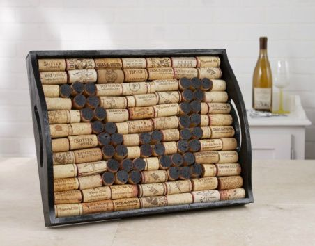 34 best images about wine cork bottle crafts on for Garden design ideas cork