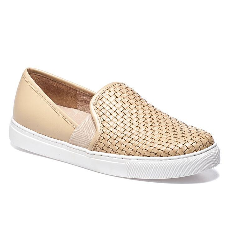 BOTOGA Beige Woven Leather Sneaker - $130.00