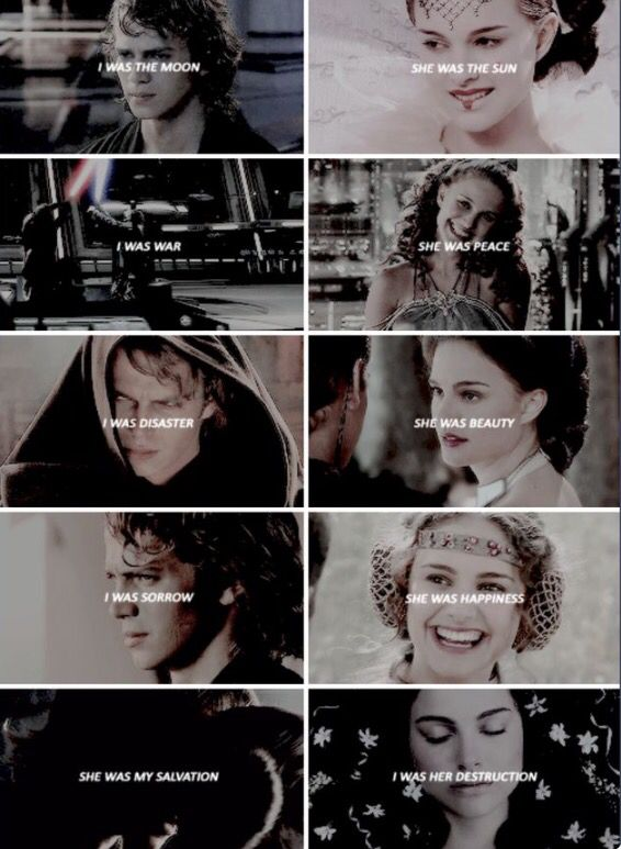 Anakin and Padmé #starwars