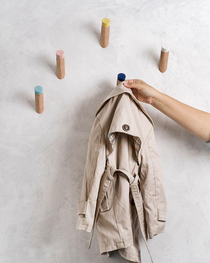 Wall hooks, Entryway coat hooks, kids room hooks, WH-07 by loopdesignstudio on Etsy https://www.etsy.com/listing/207870163/wall-hooks-entryway-coat-hooks-kids-room