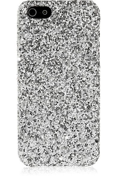 Saint Laurent | Coque pour iPhone 5 à paillettes | NET-A-PORTER.COM