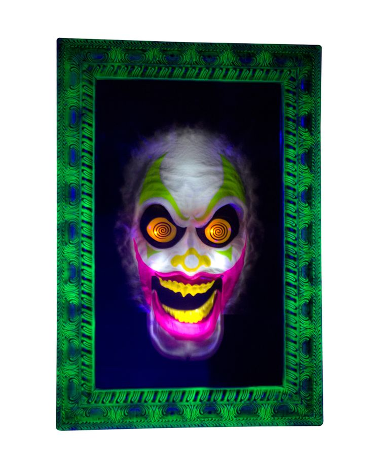 scary clown mirror exclusively at spirit halloween whos the scariest of them all this