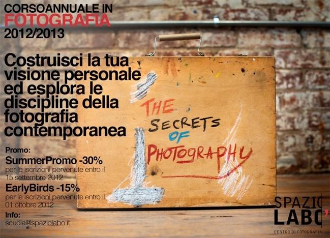 :: Spazio Labo' :: Corso annuale in Fotografia
