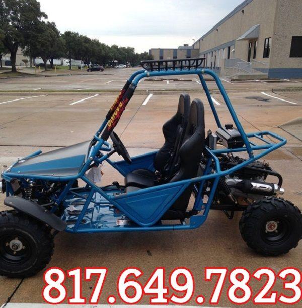 KANDI BATMAN 200CC GKM Go Kart with BASKET, 4 Stroke