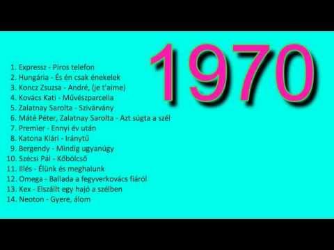 Magyar retro zene 1970