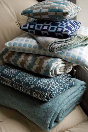 Welsh blankets from Melin Tregwynt