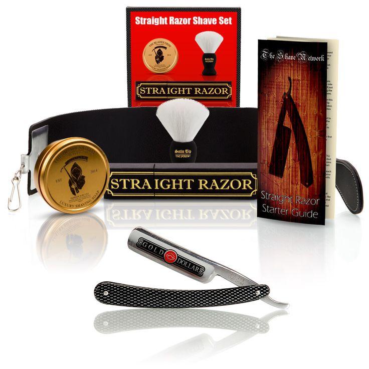 Shave Ready - Gold Dollar Straight Razor With Premium Shave Kit - StraightRazor.com