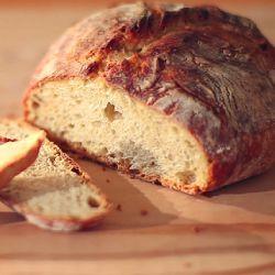 Zdjęcie do przepisu: Najprostszy chleb na drożdżach