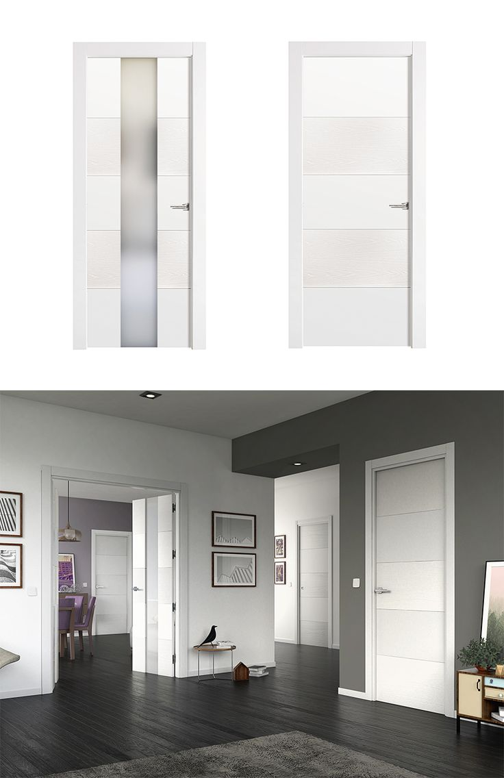 Las 25 mejores ideas sobre puertas lacadas en pinterest y - Puertas blancas de interior ...