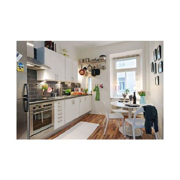 Apartment Kitchen Design Found On Polyvore