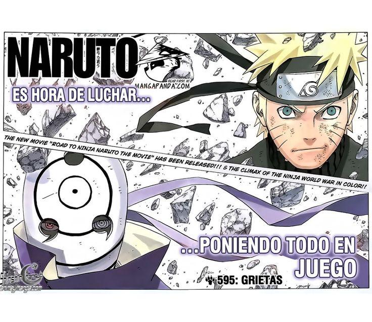 Naruto Manga 595 (Español) Ver Online HD Descargar Gratis
