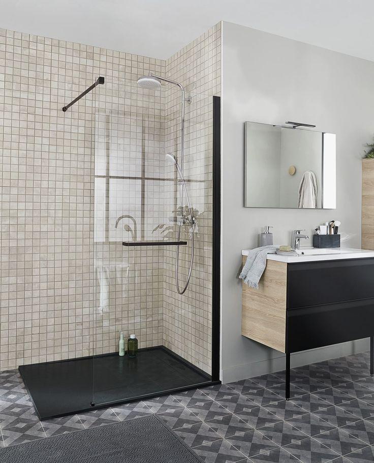 Les 25 meilleures idées de la catégorie Portes de douche en verre ...