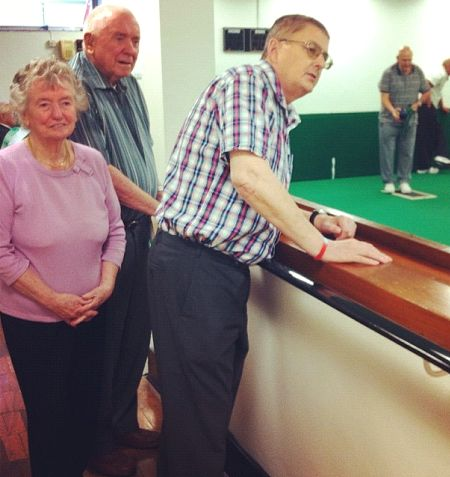 Bowls Week at the Blind Veterans UK Brighton Centre  #bowls #BlindVeterans