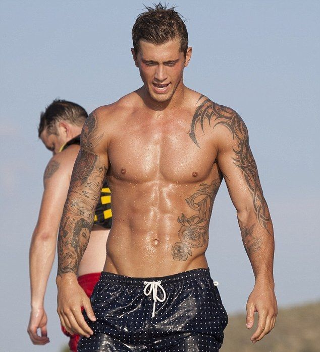 TV celebrity Dan Osborne. 23, 6 foot 5, and pretty perfect. Shame ...