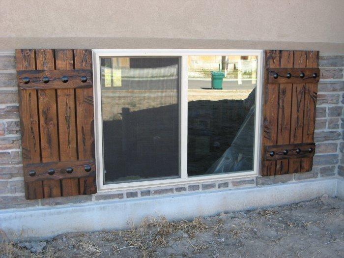Outdoor Window Canopy