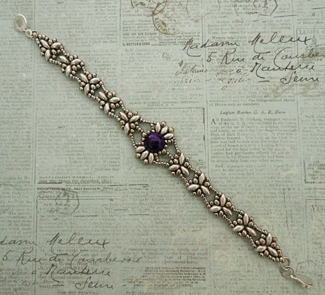 Linda's Crafty Inspirations: Birthday Bracelet #3 - Isabelle