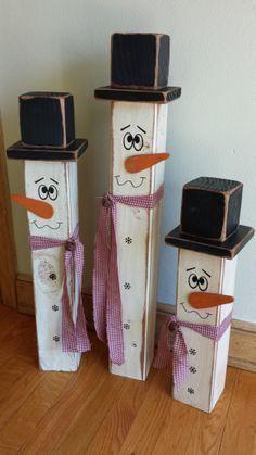 24 kreative DIY Outdoor Weihnachten Holz Handwerk Dekorationen Ideen