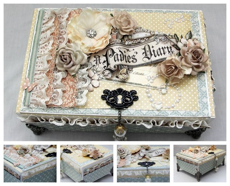 altered boxes | Scrapbook altered boxes