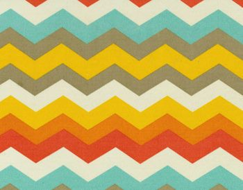 Waverly Sun N Shade Outdoor Fabric- Panama Wave Sunset
