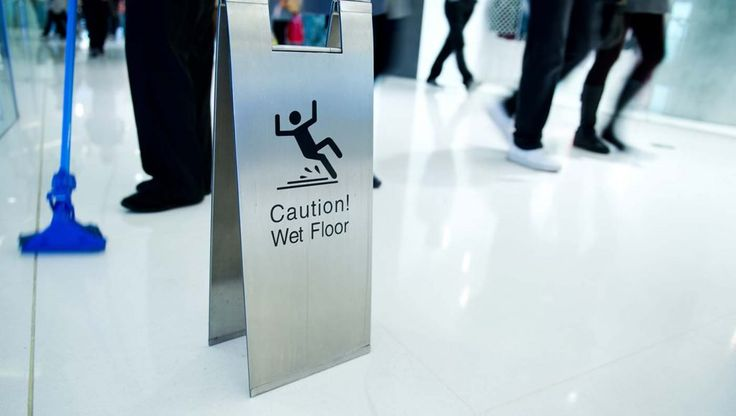 Are Your Employees Safe? OSHA has updated Slips, Trips, and Falls Regulations. You may want to check this out! in relation to floor safety and the rules of compliance.  #OSHA