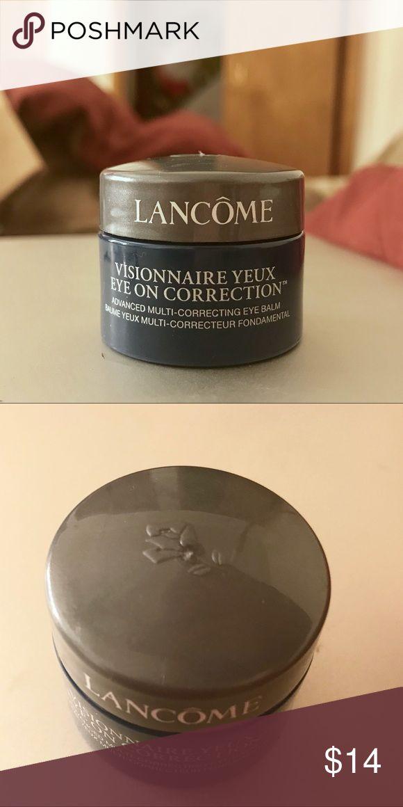 Anti-Wrinkle Eye Cream - LANCÔME NEW/NEVER BEEN OPENED. .2 OZ Lancôme Visionnaire Yeux Eye Cream for FINE LINES. Lancome Makeup #eyecreamsforwrinkles