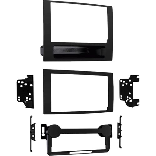 Metra - Dash Kit for select 2007-2008 Dodge Caliber and Jeep Compass/Patriot vehicles - Matte black