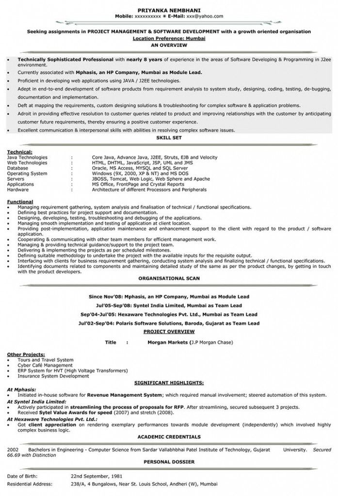 Example Of Resume Letter 2021 Resume Templates Manager Resume Best Resume Template