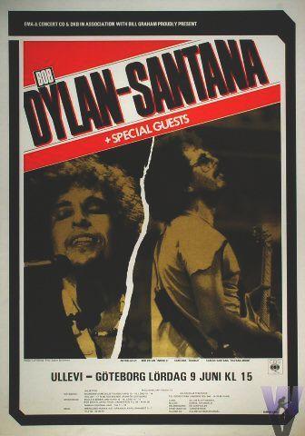 06 09 1984 - Bob Dylan Concert Poster