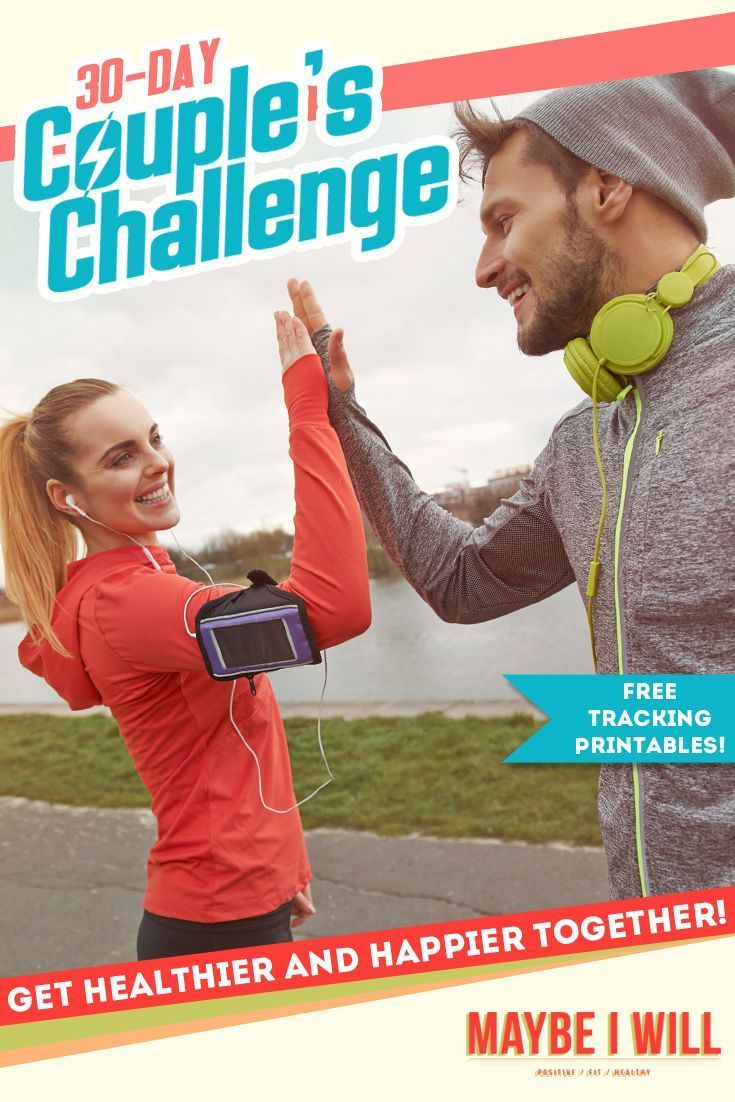 The Ultimate 30 Day Couples Fitness Challenge Get Fit Together Fun Workouts Workout Challenge Fit Couples