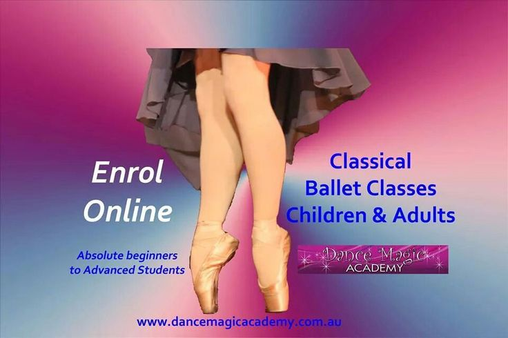 Ballet Classes - Children to Adults