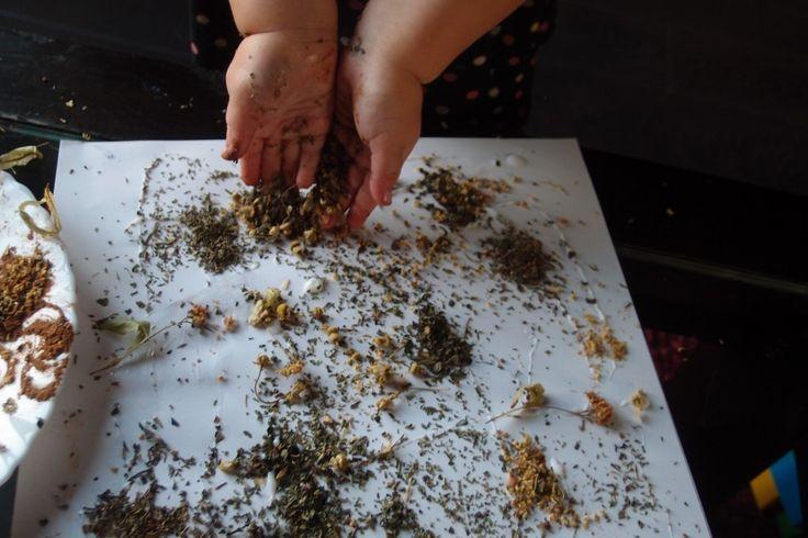 Pachnące ziołami obrazki