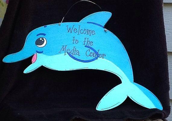 Teacher door sign, teacher sign, school door sign, classroom sign, beach sign, beach door sign, dolphin door sign, dolphin sign, school sign
