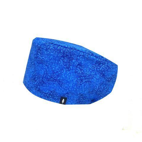 Precioso gorro de quirófano Robin Hat en tonos azules. Te sentará de maravilla!