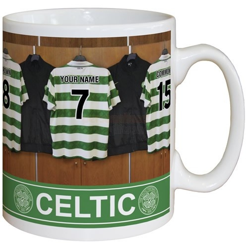Personalised Celtic Dressing Room Mug  from Personalised Gifts Shop - ONLY £9.95