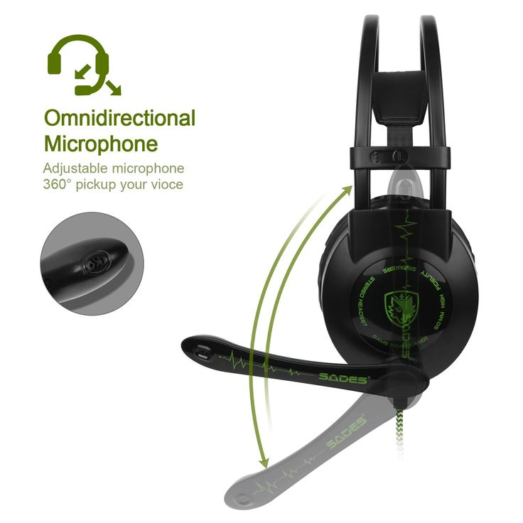 Pc Ps4 Xbox One Gaming Headset Sades Sa801 Over The Ear Gaming Headphones With Mic Gaming Headset Xbox Pc Gaming Headset Headset Headphones