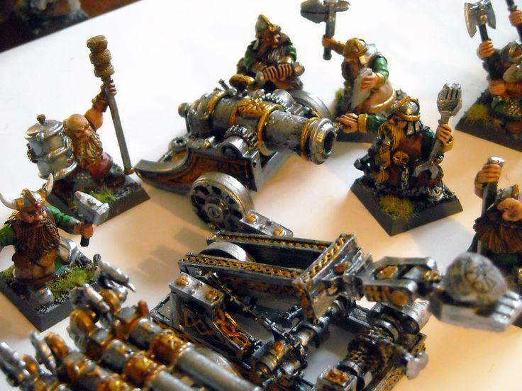 Cannoni dei Nani - Games Workshop