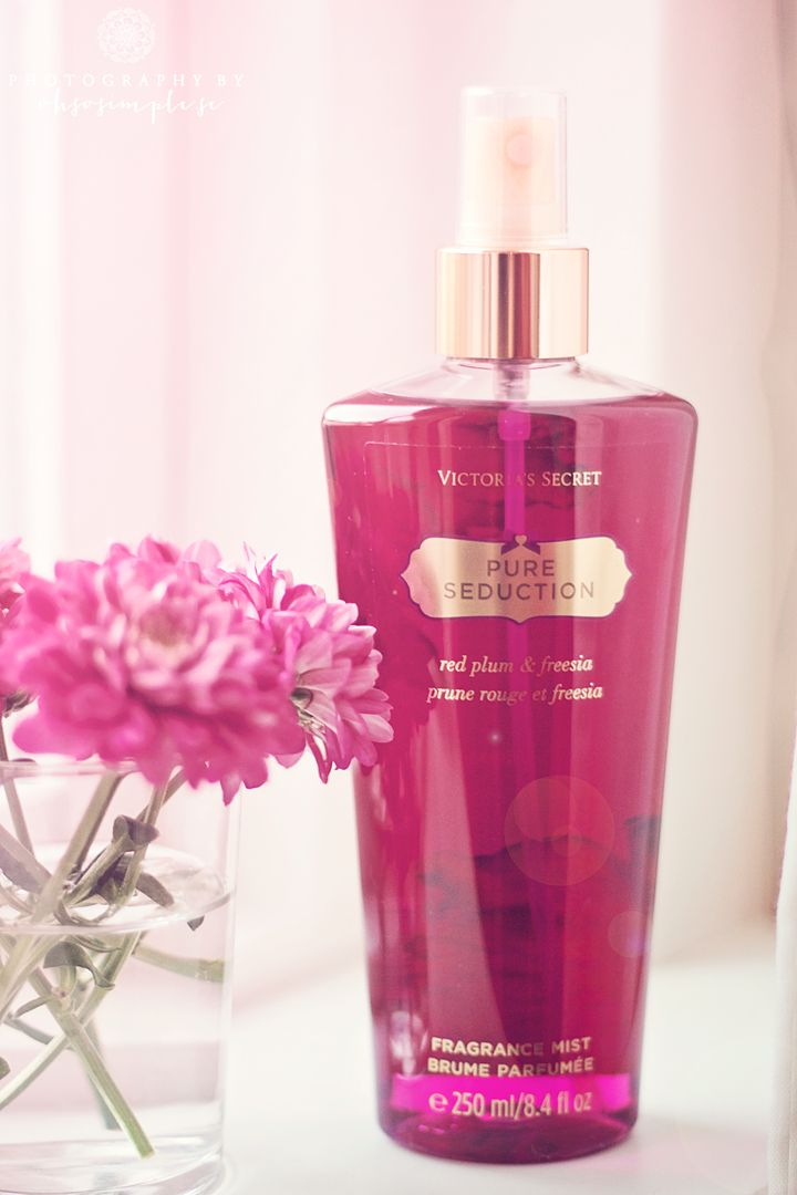 Victoria's Secret Pure Seduction body mist. Just got this and live it so much!