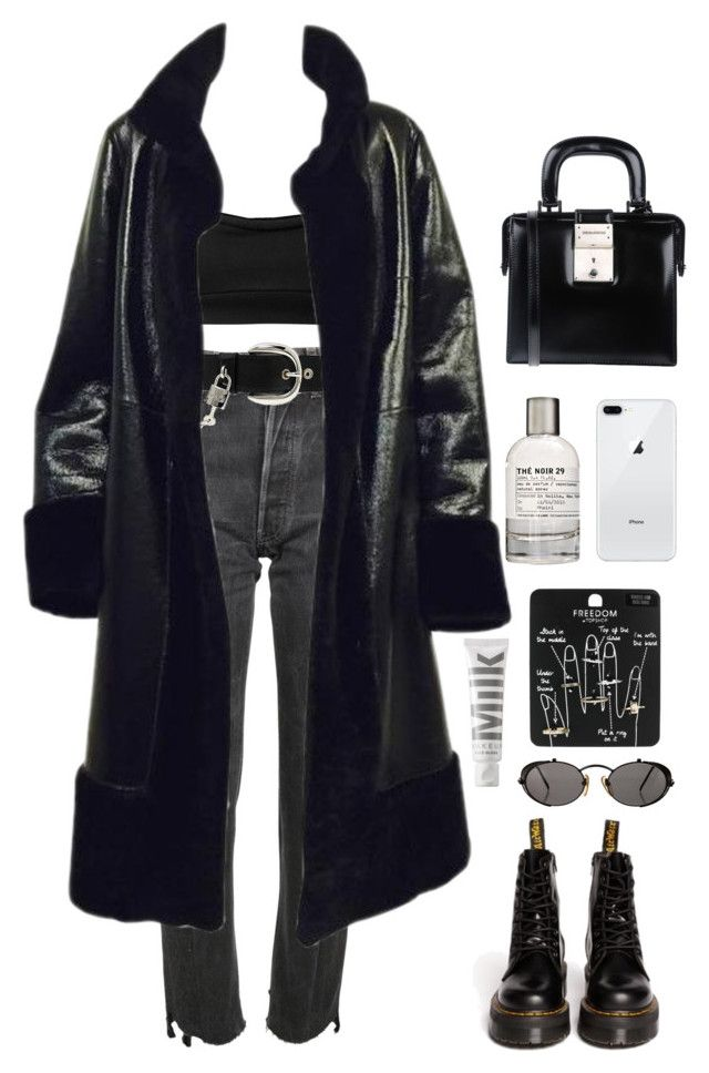"""""""the 5th"""" by millicent4 ❤ liked on Polyvore featuring T By Alexander Wang, Vetements, D&G, Dsquared2, Dr. Martens, Topshop, MILK MAKEUP, Le Labo and Jean-Paul Gaultier"""