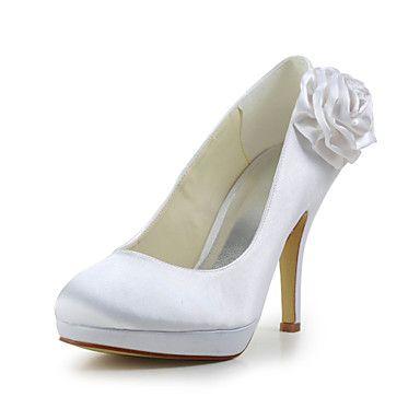 Scarpe+da+sposa+-+Scarpe+col+tacco+-+Tacchi+-+Matrimonio+-Nero+/+Blu+/+Rosa+/+Viola+/+Rosso+/+Avorio+/+Bianco+/+Argento+/+Dorato+/+–+EUR+€+44.09