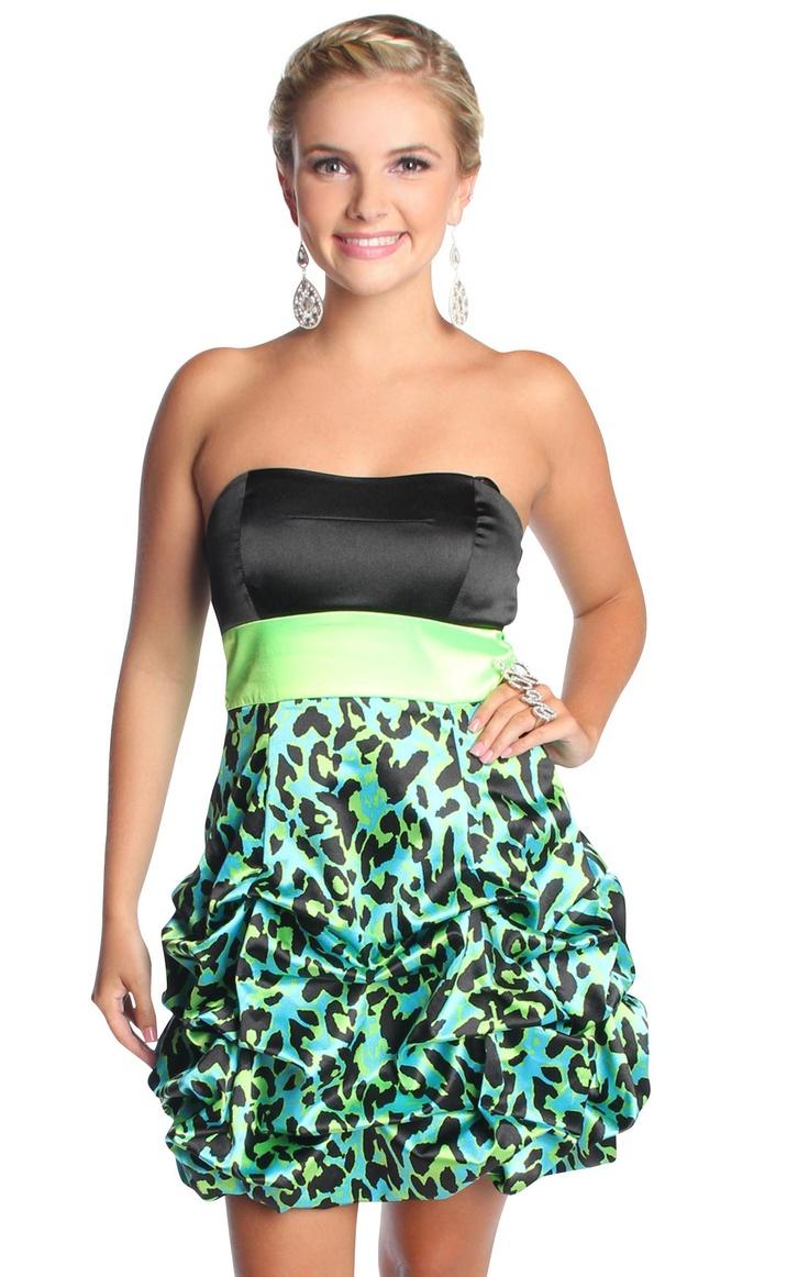 Short Strapless Pickup Dress