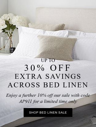 Bed Linen Sale - Upto 30% OFF On Bed Linen.