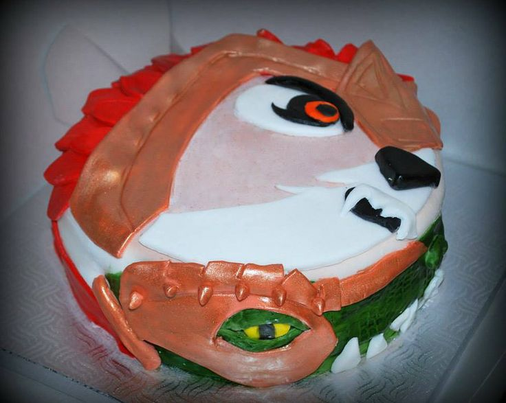 Gâteau Lego Chima Lego Chima Cake