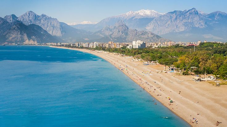 Antalya: The Lara Beach district of Antalya city centre is home to many all-inclusive hotels, offering everything you need for a beach holiday in a small, selective area. Otherwise, it also achieves fame for the 7-kilometre Konyaalti beach. The vast stretch of sand and nearby amenities makes it an all-rounder suiting families, couples and solo travellers.