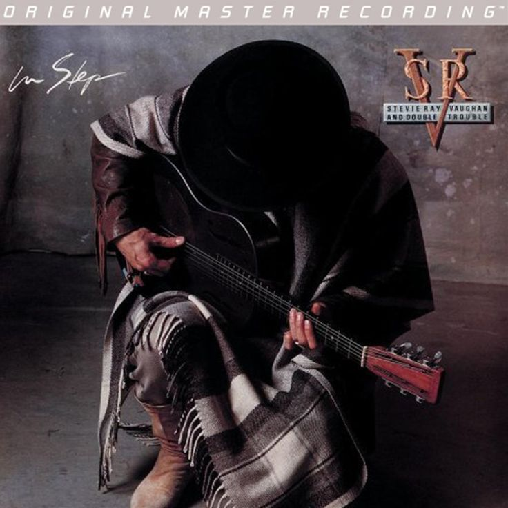 STEVIE RAY VAUGHAN - In Step (NUMBERED LIMITED EDITION HYBRID SACD)