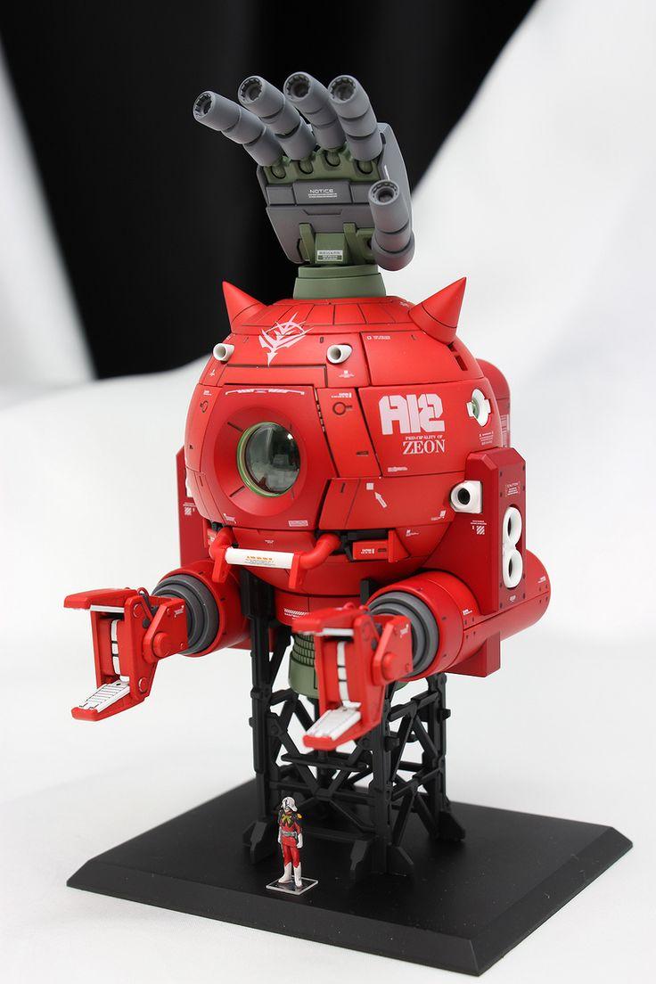 MG シャア専用ボール ver.Ka 塗装済完成品