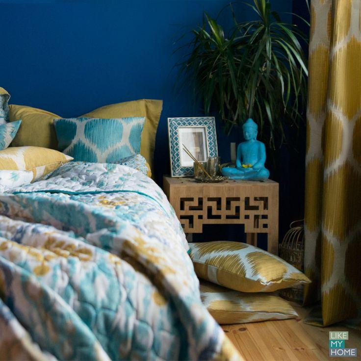 Интерьер спальни в восточном стиле лучше с коллекцией текстиля для дома Illusion. В комплекте покрывала, шторы наволочки и тюль.  Декор для спальни на Likemyhome.ru идут в наборе с теплом и уютом.  #likemyhome #wess #восточныйстиль #марокканскийстиль #идийскийстиль #покрывало #шторы #наволочки #домашнийтекстиль #дизайнинтерьера #интерьерспальни #интерьер #текстильдлядома #декордома #дом #textile #interiordesign #homedecor #decoe #bedroom #bedroomdecor #curtain #indian #arabic #coverlet…